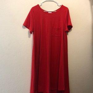 Women's LuLaroe Red Carly